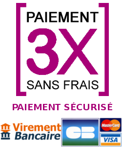 Paiement en 3 fois sans frais