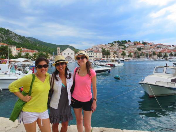 Programme pour célibataires à Croatie - île de Hvar 3* 4